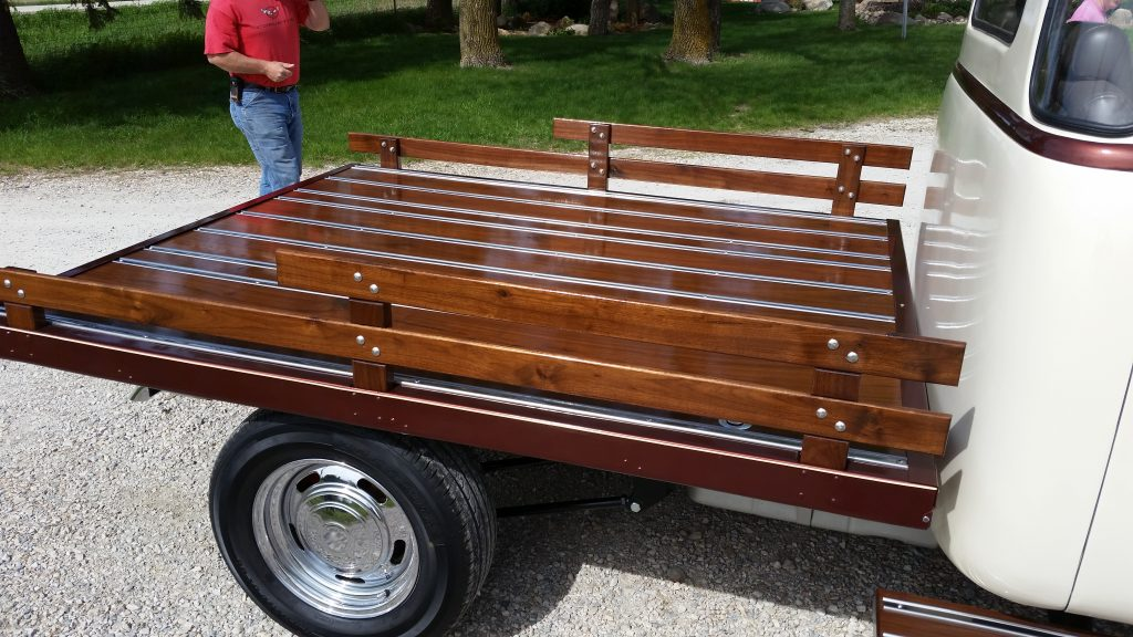Walnut Pickup Bed